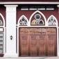 真铜门酒店旋转门别墅大门中式子母门铜门进户门铜门玻璃防盗门纯铜门